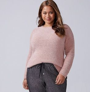 NWT Lane Bryant Chenille Pullover Sweater